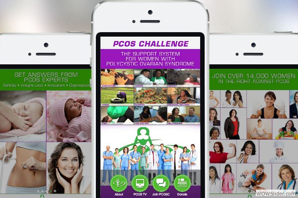 Mobile Website for PCOS Challenge, Inc.