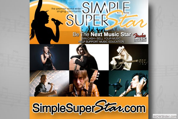 Logo and Branding for Simple Super Star