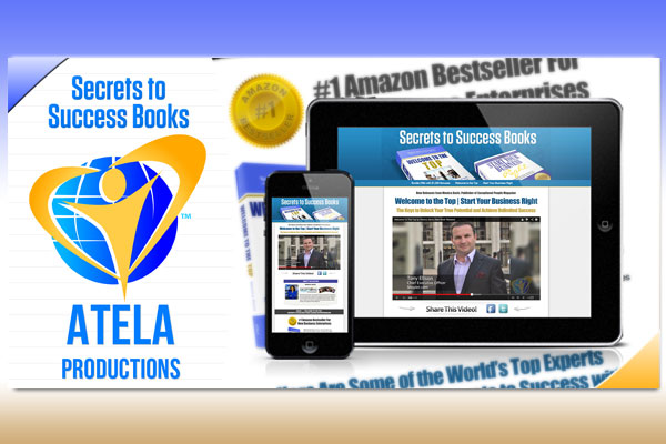Sales Page for Atela Productions