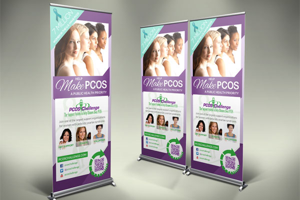 Trade Show Banner PCOS Challenge, Inc.