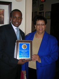 William R. Patterson Honored by Sigma Gamma Rho Sorority, Inc.