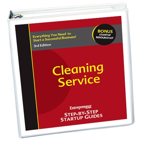 Small Business Ideas - Cleaning Service Business Startup Guide