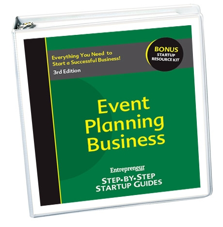 Small Business Ideas - Event Planning Service Business Startup Guide