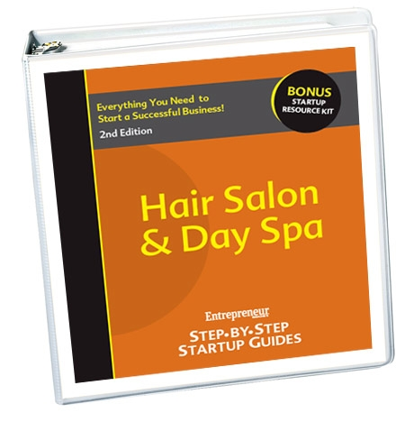 Small Business Ideas - Hair Salon & Day Spa Business Startup Guide