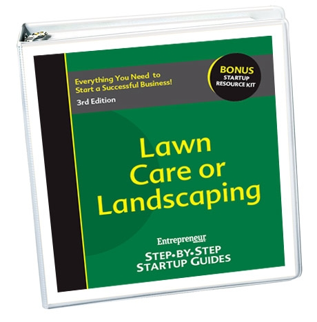 Small Business Ideas - Lawn Care/Landscaping Business Startup Guide
