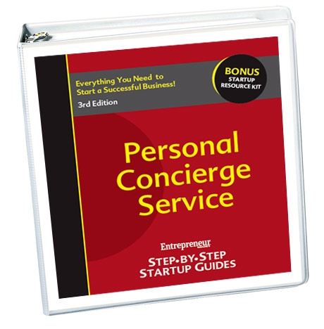 Small Business Ideas - Personal Concierge / Shopper Business Startup Guide