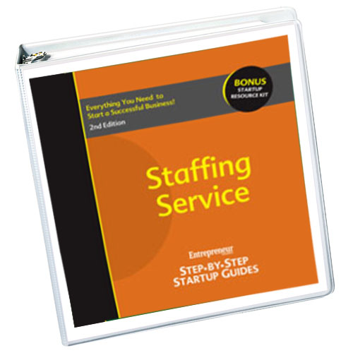 Small Business Ideas - Staffing Service Business Startup Guide