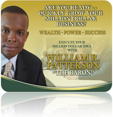 Business Coach William R. Patterson - Build Your Million-Dollar Business